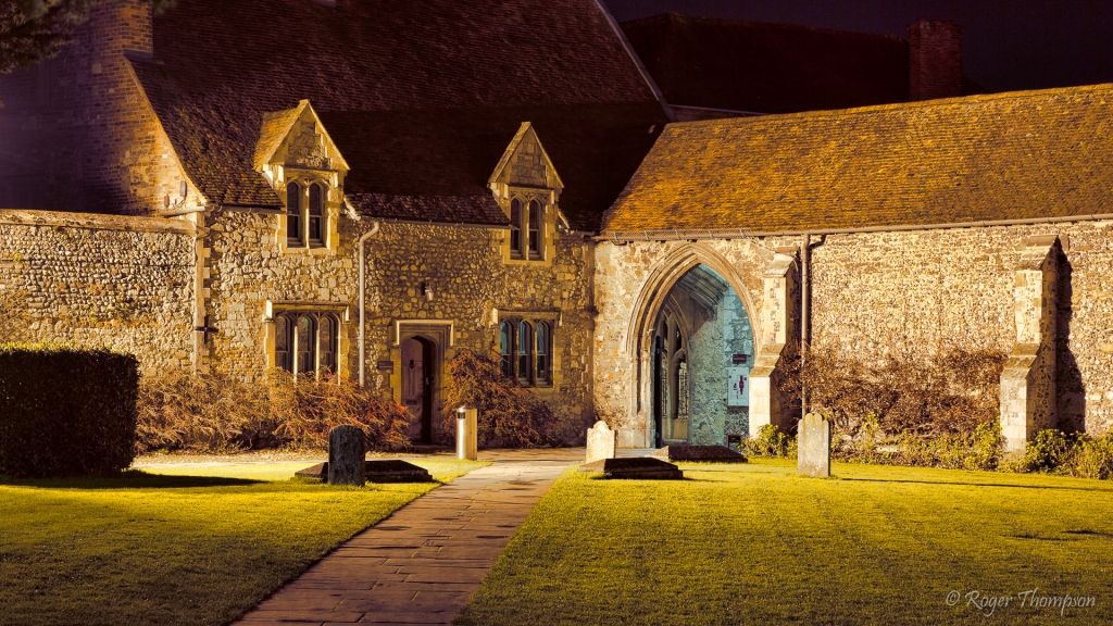 Chichester Cathedral grounds cottage